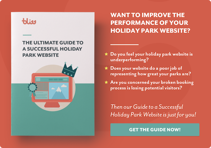 Download our holiday park website guide